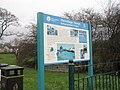 Information sign at the Hermitage Stream - geograph.org.uk - 630084.jpg