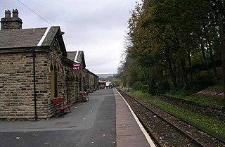 Ingrow (West) railway station Railway station in West Yorkshire, England
