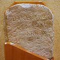 Inscripció funerària de Benicapsell (Planes), Museu Arqueològic Municipal d'Alcoi.JPG
