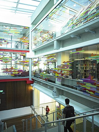 University of Waikato - Image: Inside the Waikato University Student Centre
