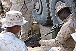 Integrated Task Force artillery Marines conduct fire-missions for MCOTEA assessment 150302-M-ED778-001.jpg