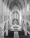 interieur naar het koor - alkmaar - 20005939 - rce