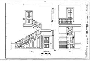 Wythe House - Interior, George Wythe House