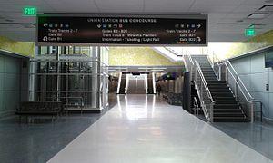 Interior at Union Station Transit Center, Denver.JPG