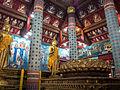 Interior of mondop of Wat Phra Yuen Phutthabat 2014.jpg