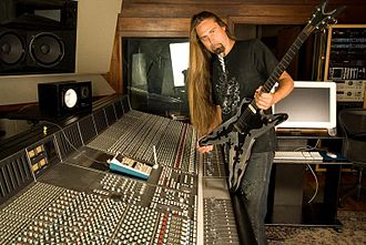 Ira Black (musician) - Ira Black in studio