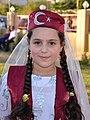 Iraqi Turkmen girl in traditional Turkish costume.jpg
