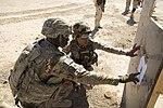 Iraqi army 73rd Brigade range, Operation Inherent Resolve 150621-A-YV246-072.jpg