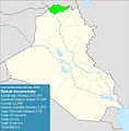 Iraqi parliamentary election, 2010 result-Dahuk.jpg