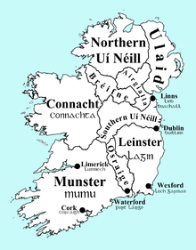 Map Of Ireland Leinster.Provinces Of Ireland Wikipedia