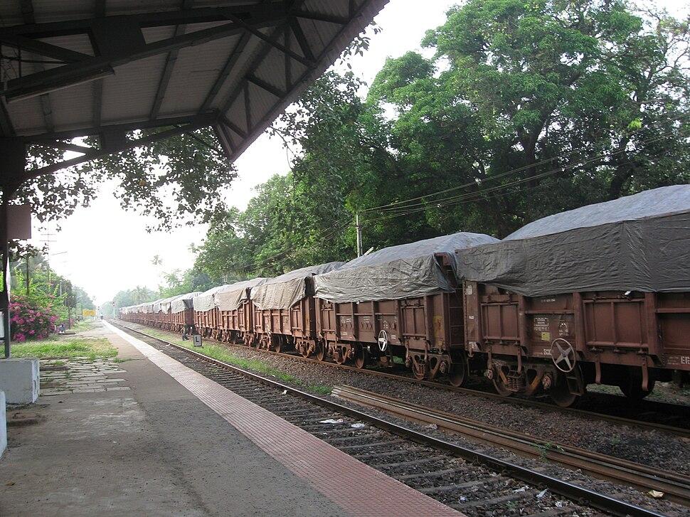 Iron Ore Train Goa