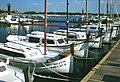 Isla de Mallorca - Barcas en el puerto de Colonia Sant Jordi - panoramio.jpg