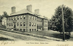 Putnam, Connecticut - Israel Putnam School, ca. 1907