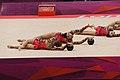 Israel Rhythmic gymnastics at the 2012 Summer Olympics (7915343594).jpg