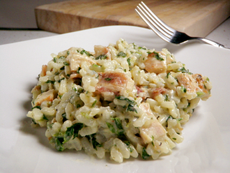 Risotto - Creamy baked mushroom risotto from Italy