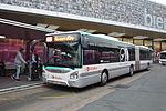 Iveco Bus Urbanway 18 n°4466 du Orlybus à Orly-Sud.JPG