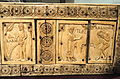 Ivory Box with Scenes of Adam and Eve, 1000-1100s AD, Byzantine, Constantinople, ivory, wood - Cleveland Museum of Art - DSC08379.JPG