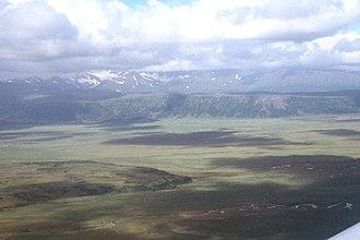 Izembek Wilderness - Joshua Green River Valley in Izembek Wilderness