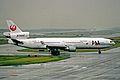 JA8589 MD-11 JAL Japan Airlines KIX 26MAY03 (8505645273).jpg