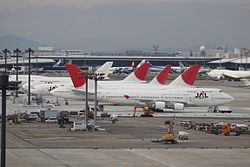 JAL Japan Airlines Line Up (7570657022)