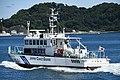 JCG Kinugasa(MS-01) left rear view at Port of Yokosuka July 26, 2019 01.jpg