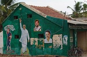Janata Dal (Secular) - JD(S) propaganda in Bangalore.