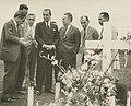 JK no cemitério de Brasília - BR RJANRIO PH 0 FOT 00694 0047, Acervo do Arquivo Nacional.jpg