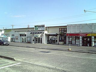 Hitachi-Taga Station Railway station in Hitachi, Ibaraki Prefecture, Japan