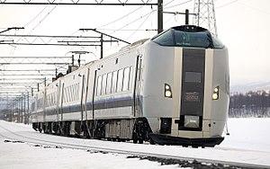 Suzuran - Image: JR Hokkaido 789 series EMU 003