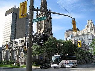 Jackson Street (Hamilton, Ontario) street in Hamilton, Ontario