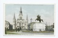 Jackson Square and Cathedral St. Louis, New Orleans, La (NYPL b12647398-62106).tiff