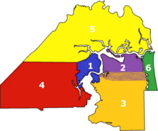 Jacksonville divisions