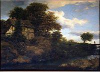 Jacob van Ruisdael - View of a Cottage on a Hillside.jpg