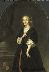 Portrait of Jacoba Bicker (1640-95), wife of Pieter de Graeff