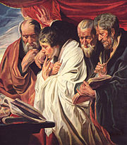 The Four Evangelists, by Jakob Jordaens