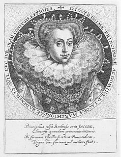 Jakobea of Baden Margravine of Baden by birth, Duchess of Jülich-Cleves-Berg by marriage