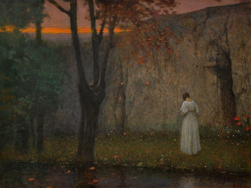 File:Jakub Schikaneder - Podzimní červánky (po roce 1910).jpg