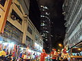 Jalan Bunus 6 at night, 23 August 2014.JPG