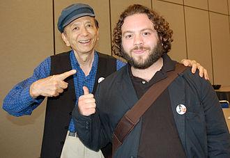 James Hong - Hong and Dan Fogler at the 2007 Comic-Con International