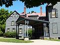 James A. Garifled National Historic Site porte-cochere.JPG