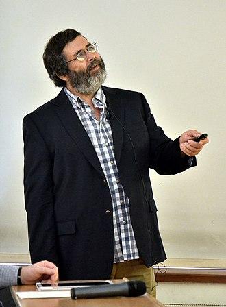 Jan Mandel - Jan Mandel at the Prague Computer Science seminar, May 2015.