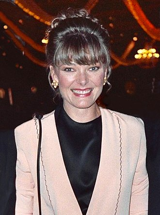 Jane Curtin - Curtin at the 41st Emmy Awards in September 1989