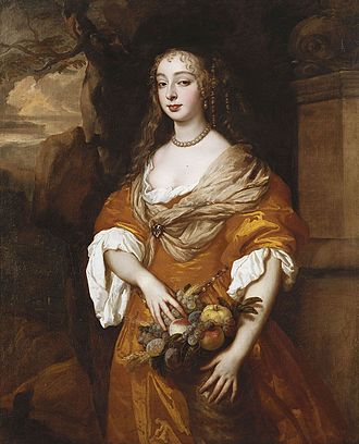 Windsor Beauties - Image: Jane Needham, Mrs Myddleton, 1663 5 by Lely
