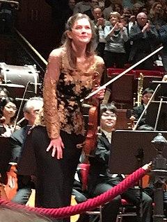 Janine Jansen Dutch violinist and violist