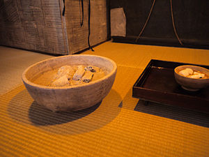 Hibachi - Primitive hibachi before Edo period (Fukagawa Edo Museum)