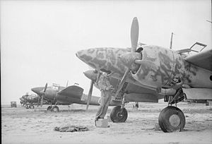 Japanese Kawasaki Ki-45 Toryu aircraft at Kallang Airport, Singapore - 194509