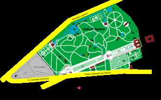 Parque de el capricho wikipedia la enciclopedia libre for Jardines el capricho
