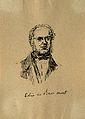 Jean-Baptiste-Armand-Louis-Léonce Elie de Beaumont. Pen draw Wellcome V0001752.jpg