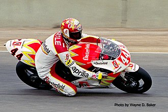Jean-Michel Bayle - Jean-Michel Bayle at the 1993 U.S. Grand Prix