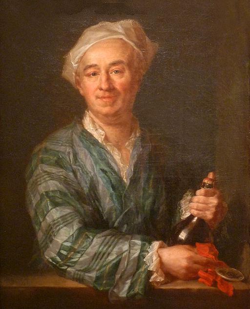 Jean Grimou-Le Buveur de champagne